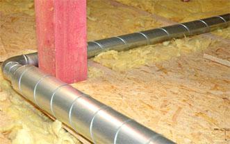 Kvalita provedení montáže ventilace