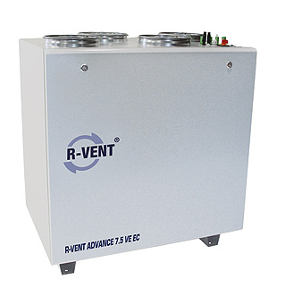 Rekuperátory VENT ADVANCE 7.5 VE EC