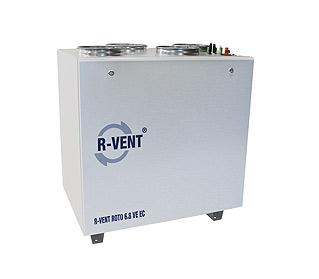 Rekuperátory R-VENT ROTO 16 VE EC